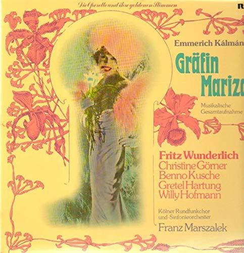 Gräfin Mariza ,, Franz Marszalek, Gretel Hartung [Vinyl LP]