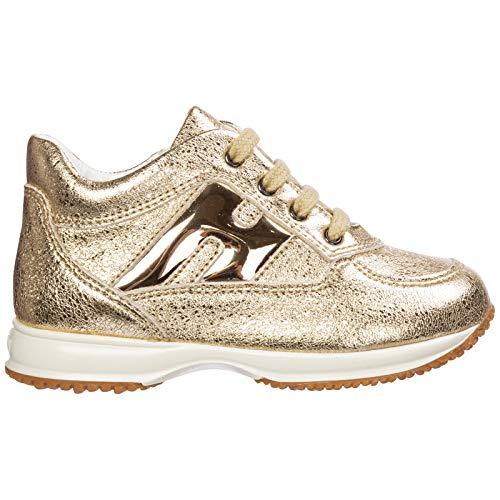 .Hogan Sneakers Interactive Bambino Oro 21 EU