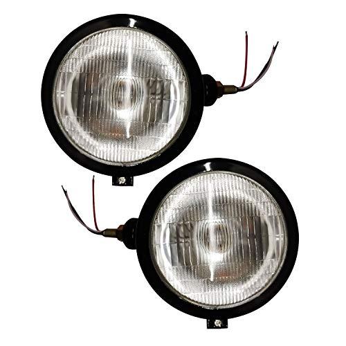 Bajato Jeu de phares Noir Pour Massey Ferguson Avec ampoule (12v) -11000203