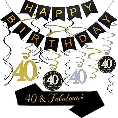 banda 40 cumpleaños fabricante XYJNN