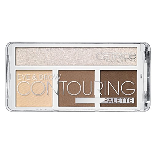 Catrice - Kontur Palette - Eye & Brow Contouring Palette - 020 But First Hot Coffee