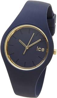 (アイスウォッチ) Ice-Watch 腕時計 001055 ICE glam アイスグラム ネイビー 34mm ユニセックス メンズ レディース 時計 [並行輸入品]