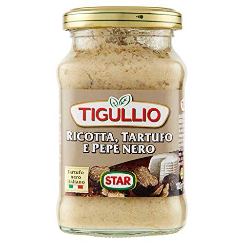 Tigullio Pesto Specialità Ricotta, Tartufo e Pepe Nero, 190 Gr