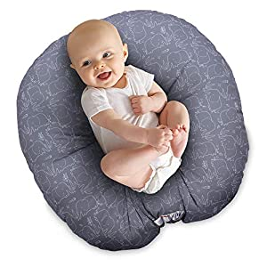 Boppy Original Newborn Lounger, Elephant Picnic