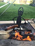 Army Military Marines Guy cooker and Hot Dog Roasting Sticks wooden handles included