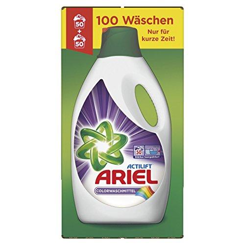 Ariel flüssiges Colorwaschmittel für 100 Waschladungen