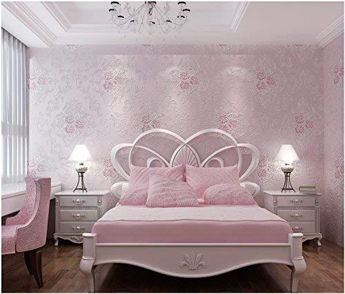 3D stereoscopische imitatie houtnerf behang restaurant woonkamer achtergrond behang hout imitatie wallpaper sudaijins roze
