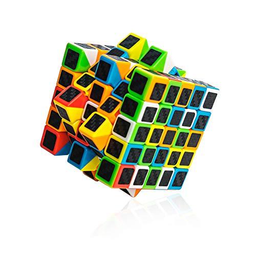 digitCUBE Zauberwürfel 5x5 - Speedcube für leichte und schnelle Drehungen - Speed-Cubing Knobelspiel für Klein und Groß