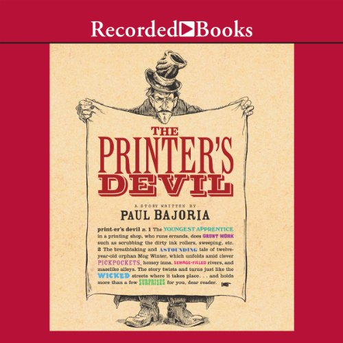 The Printer's Devil audiobook cover art