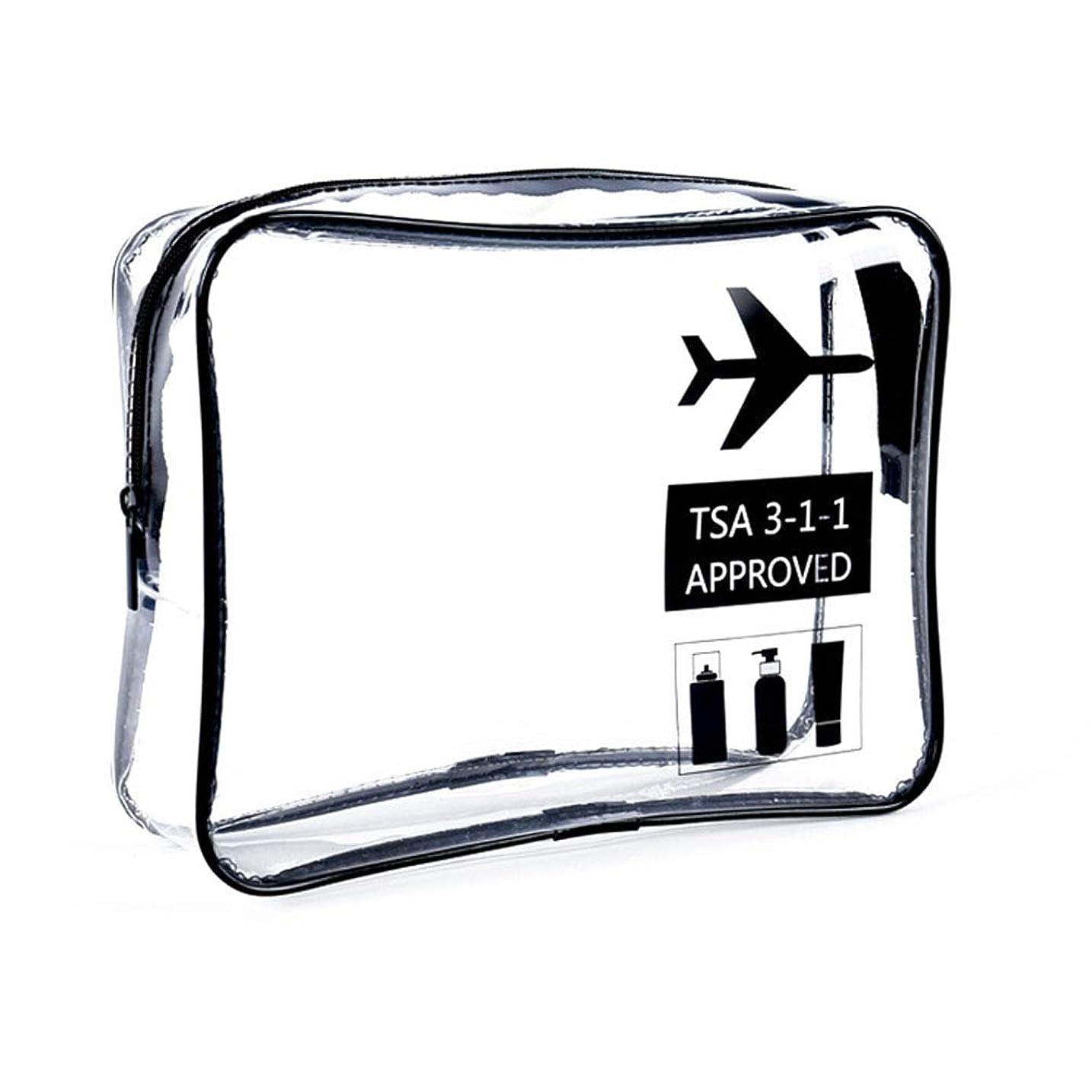みぞれ追記正直明確な化粧袋、ジッパー旅行貯蔵袋の化粧品の箱が付いている携帯用防水化粧品袋