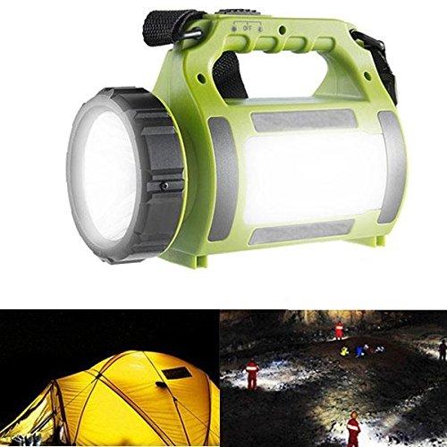 Bazaar ARILUX® oplaadbare LED camping lantaarn schijnwerper waterdicht 2000mAh Power Bank wandelen noodgevallen
