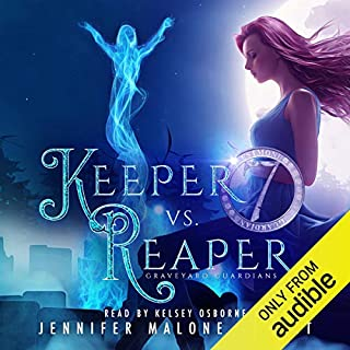 Keeper vs. Reaper audiobook cover art