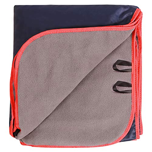 REDCAMP Large Waterproof Stadium Blanket for Cold Weather, Soft Warm Fleece Camping...
