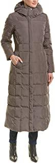 Cole Haan Womens 356SD165 Taffeta Quilted Long Down Coat Down Outerwear Coat