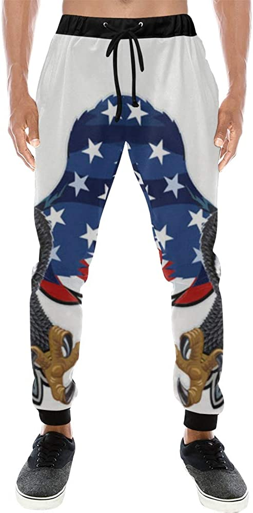 Unisex 3D Printed Graphric Sport Spasm price Eagle Jogging PantsAmerican Award-winning store USA