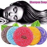 Vaugan Duft Shampoo Seife, Haarpflege Pflegend Anti-Schuppen Öl Kontrolle Handgefertigt Seifen -...