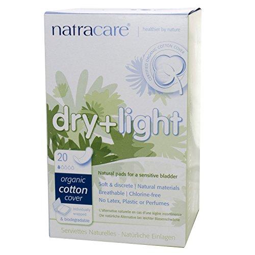 Natracare 57136 secar en secadora y de los Color Beige la incontinencia y tarjetas de visita
