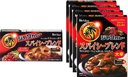 【Amazon.co.jp限定】 ハウス ジャワカレースパイシーシリーズセット(調理型カレー/レトルトカレー)