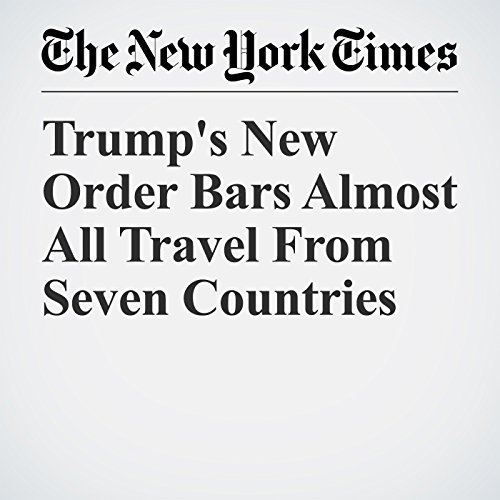 Trump's New Order Bars Almost All Travel From Seven Countries copertina