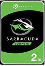 Seagate BarraCuda 2TB Internal Hard Drive HDD – 3.5 Inch...
