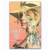 MGSHN Lady Gaga Five Foot Two 2017 Netflix Documenta Poster