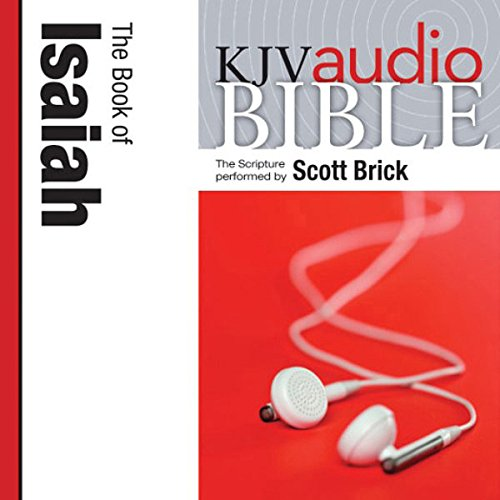 King James Version Audio Bible: The Book of Isaiah audiobook cover art