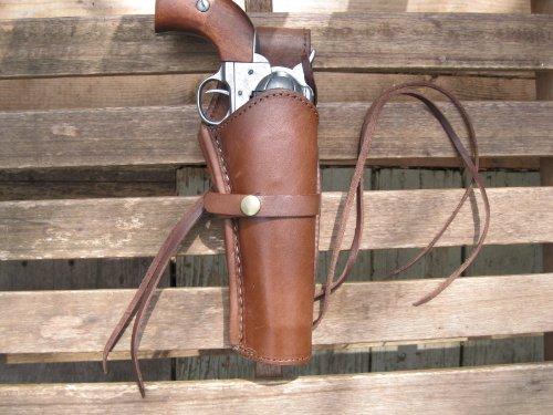 Shotgun Lilli Western Gun Holster - Brown - Right Handed -...