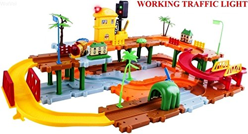 WolVol Big Train Tracks Set