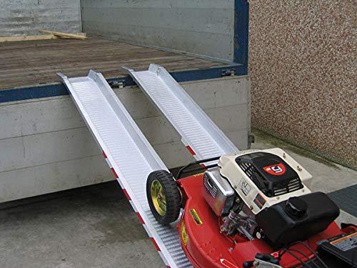 Auffahrrampe - Innenbreite 155 mm – Länge: 3,00 m – Verkauf pro Stück