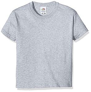 FRUIT OF THE LOOM Baby Original T. Camiseta Gris Gris (Heather) 3-4 Años