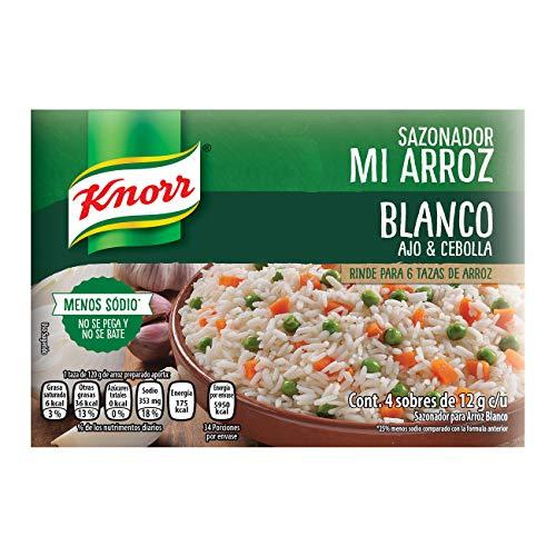 Knorr, Knorr Mi Arroz Sazon Ajo Y Cebolla 12 gramos