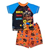 レゴ 映画 パジャマ 2枚 P J セット 半袖 US サイズ: 3T カラー: ブルー
