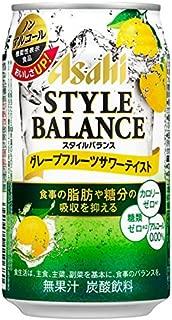 アサヒ スタイルバランス グレープフルーツサワーテイスト (350ml×24本) × 2ケース