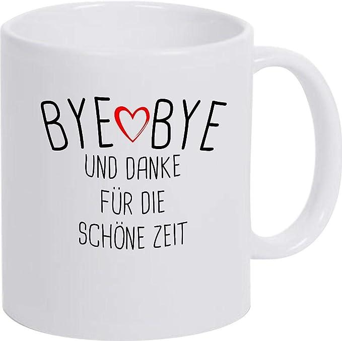 Kaffeepott Kita Hort Erzie Bye Bye ein Danke für die beste Erzieherin der Welt