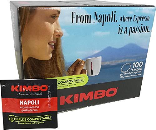 KIMBO ESPRESSO NAPOLETANO KOFFIE - Doos 100 ESE44 7g PODS