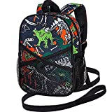 Toddler Backpack with Leash, 9.5' Baby Dinosaur Harness...