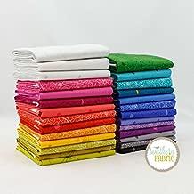 Sun Print 2018 Fat Quarter Bundle (27 pcs) by Alison Glass for Andover 18 x 21 inches (45.72cm x 53.34cm) fabric cuts DIY quilt fabric