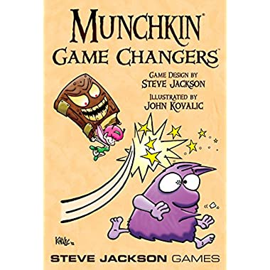 Steve Jackson Games Munchkin Game Changers Card Game
