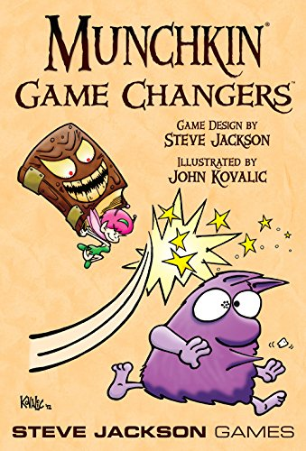 Steve Jackson Games SJG01489 - Munchkin Game Changers, Kartenspiel