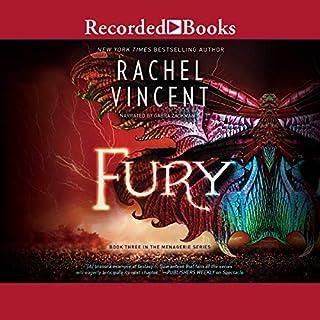 Fury audiobook cover art
