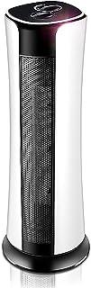 Radiador eléctrico MAHZONG Calentador de Ventilador de Torre oscilante de cerámica con 3 configuraciones de calefacción, Temporizador de 9 Horas, protección de Seguridad