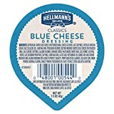 Hellmann's Classics Blue Cheese Dressing Dip Cups Gluten Free, No Artificial Flavors or High Fructose Corn Syrup, Colors from Natural Sources, 1.5 oz, Pack of 108