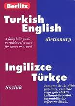 Berlitz Turkish-English Dictionary/Ingilizce-Turkce Sozluk