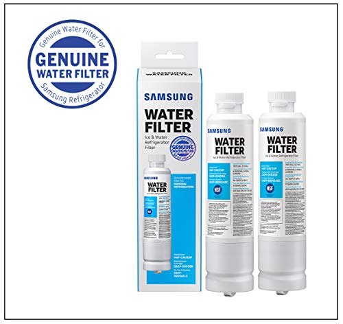 Samsung Electronics HAF-CIN Refrigerator Water Filter, 2 Pack, white, 2