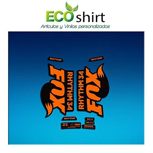 Ecoshirt QK-XYWF-6FNV Pegatinas Stickers Fork Fox 34...