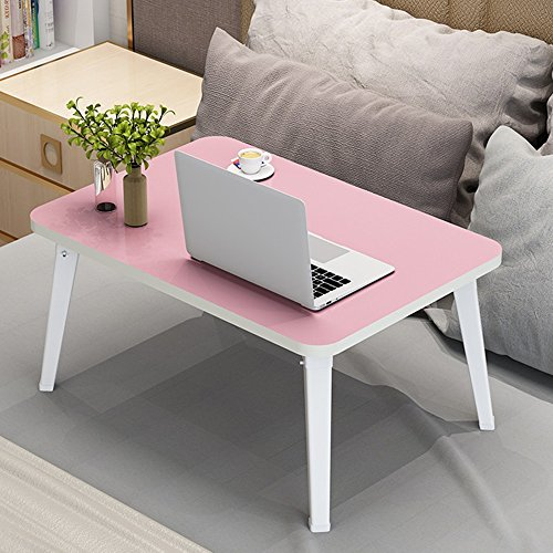 Table pliante réglable Table de Petit Ordinateur/Portable Table/Book Desk/Accueil Multifonction Table/Multi-Couleur en Option / 69 * 45 * CM Peut être tourné (Couleur : B)