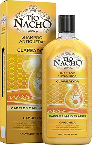 Shampoo Antiqueda Clareador Camomila, Tio Nacho, 415 Ml