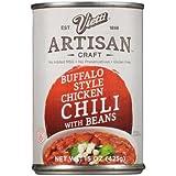 Vietti Artisan Craft Buffalo Style Chicken Chili with Beans 15 oz (Pack of 6)