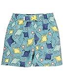 RUGGEDBUTTS Baby/Toddler Boys Starfish and Stingrays Swim Trunks - 6-12m