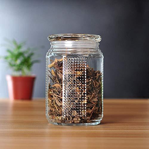 Lghoen Jarrita de almacenamiento para nata, tarros de especias, tarro de vidrio...